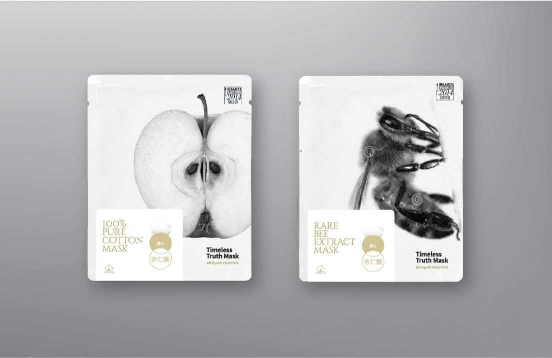 Timeless Truth Mask Product Identity and Packaging Design