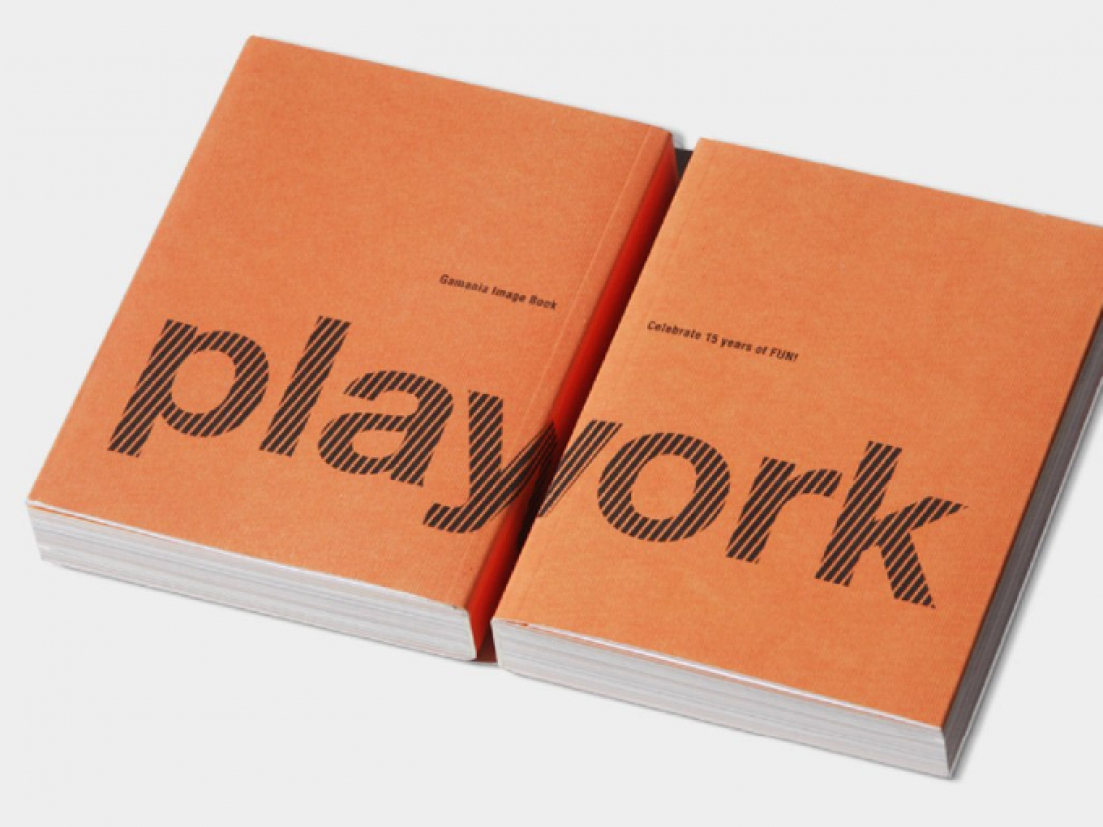 Gamania PlayWorks Identity Design